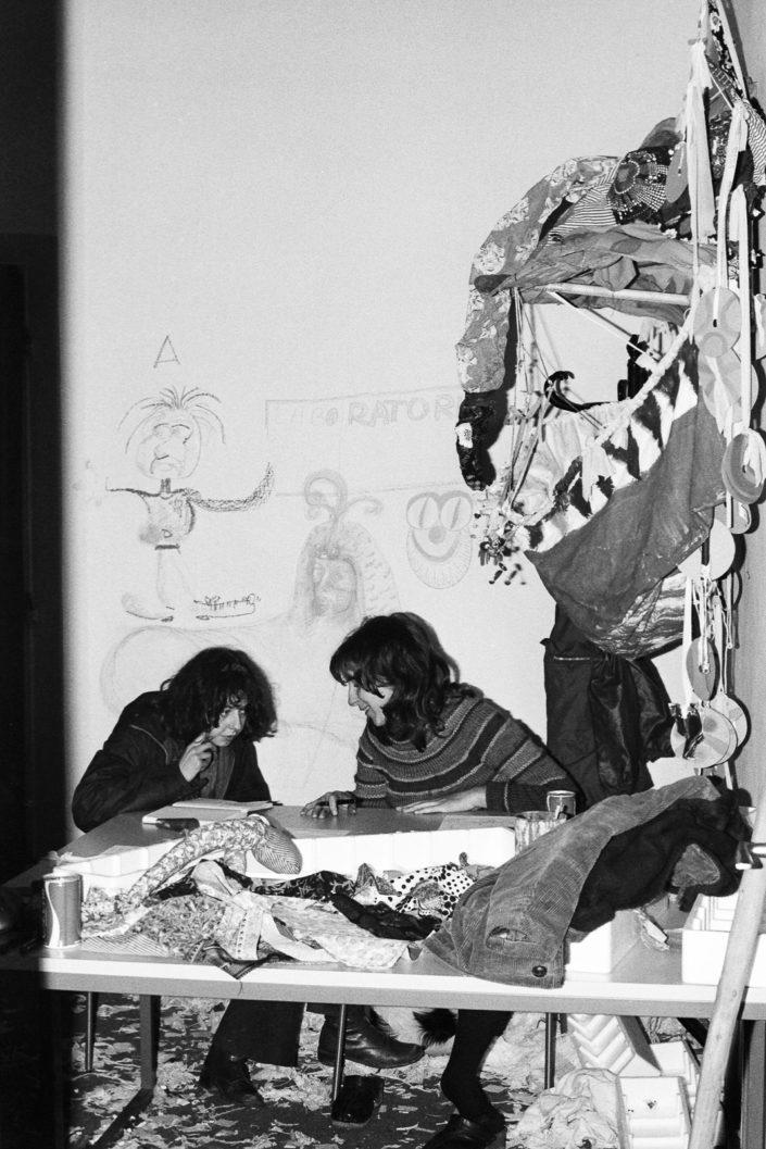 Bologna 1977. Al Dams nasce il drago