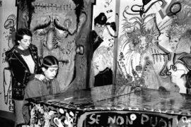 Bologna 1977. Festa notturna al Dams