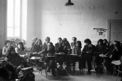 Bologna, 1977. Assemblea Dams