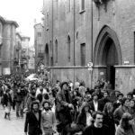Corteo per Benecchi e Giorgini