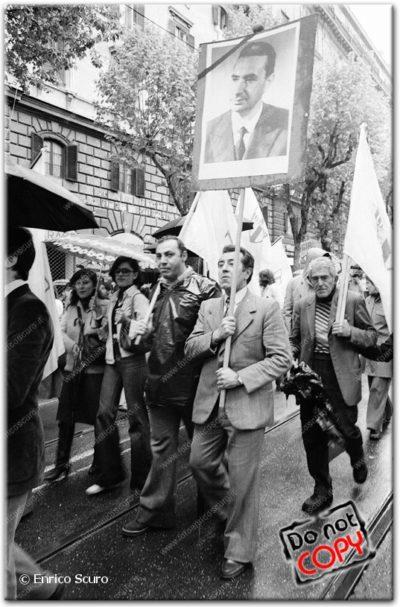 Hanno ucciso Aldo Moro. Il corteo della Democrazia Cristiana