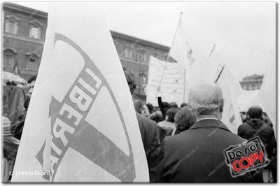 Hanno ucciso Aldo Moro. Manifestazione sindacale