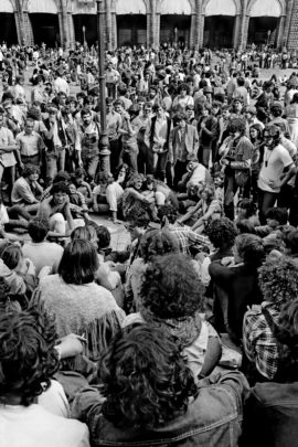 In attesa di Patty Smith, Bologna, 1979