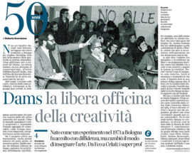 50 anni DAMS