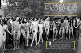 I sognatori nudi del Parco Lambro