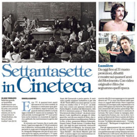 Settantasette in Cineteca